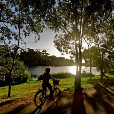 Ross River Bikeway Townsville QLD